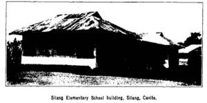 Silang Central School Bureau of Public Works (1905 Report; p.622)